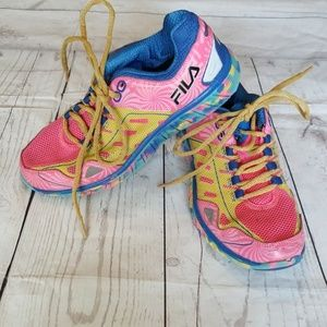 💎FILA BRAVO MULTICOLOR RUNNING SHOES